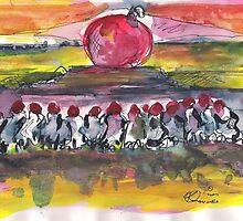 HOLLY BUBBLE(C2007) by Paul Romanowski