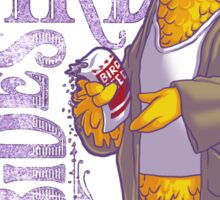The Big Birdowski Parody Sticker