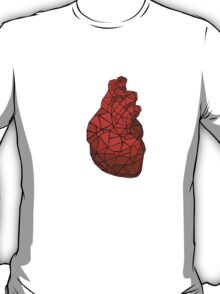 geometric heart of courage T-Shirt