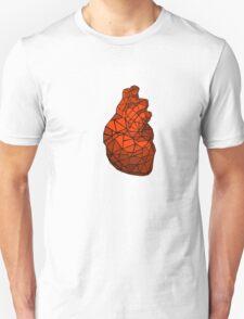 geometric heart of courage Unisex T-Shirt