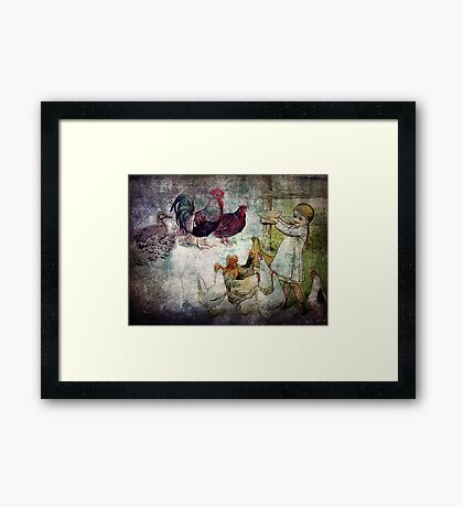 FINE FEATHERED FRIENDS Framed Print