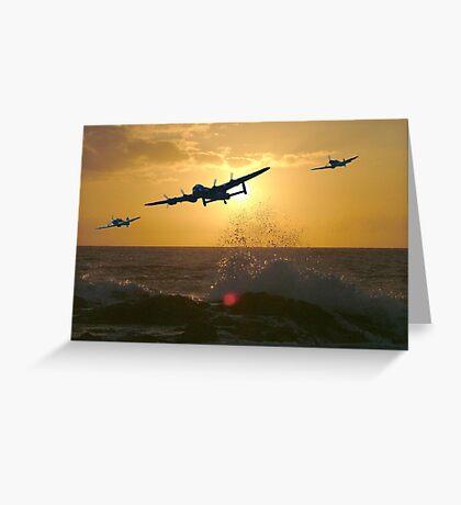 The Battle of Britain Memorial Flight Greeting Card
