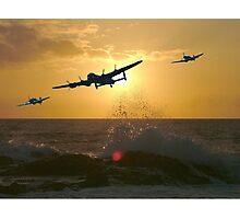 The Battle of Britain Memorial Flight Photographic Print