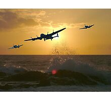 The Battle of Britain Memorial Flight Photographic Print