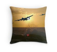 The Battle of Britain Memorial Flight Throw Pillow