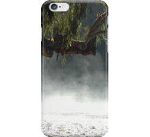 Mist in the bush. iPhone Case/Skin