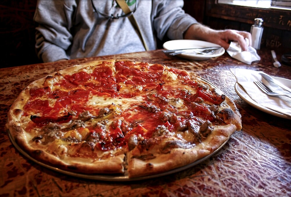 New York City Means Pizza by Mikell Herrick