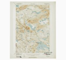 Maine USGS Historical Map Sebec Lake 460857 1950 62500 One Piece - Short Sleeve