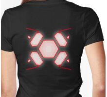 Dark Zero Suit Womens Fitted T-Shirt