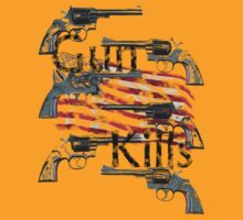 Gun kills America by telberry