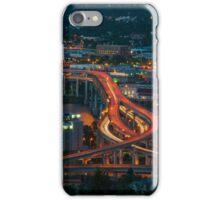 Portland Traffic at Dusk iPhone Case/Skin