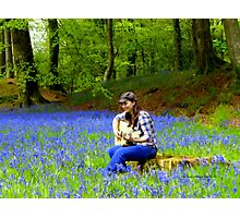 Singer Songwriter Photographic Print