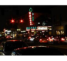 bagdad by night Photographic Print