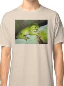 Frog at Paradise Point, Gold Coast. Classic T-Shirt