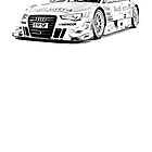 2013 AUDI RS 5 DTM by garts