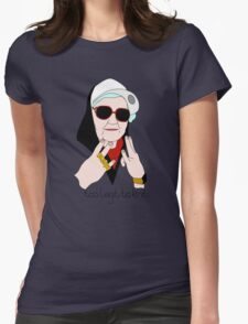 Too Legit to Knit Womens Fitted T-Shirt