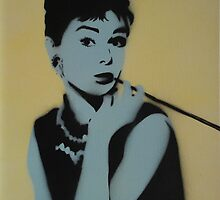 Audrey by Dave J Mullarkey