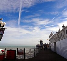 "UK: ""Brighton Pier Boardwalk"", Brighton & Hove by Kelly Sutherland"