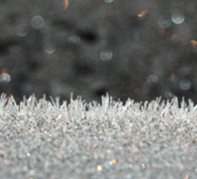 Winter Frost Ice Crystals Sticker