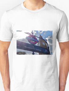 """London, England: """"Westminster Underground"""" Unisex T-Shirt"""