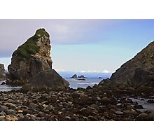 Coastal Rocks. Photographic Print