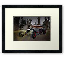 1930 Ford Rat Rod 'Last Rites' Framed Print