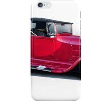 1929 Ford 'Classic Hot Rod Roadster' iPhone Case/Skin