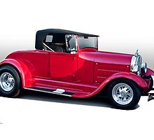 1929 Ford 'Classic Hot Rod Roadster' by DaveKoontz