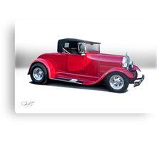 1929 Ford 'Classic Hot Rod Roadster' Metal Print