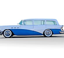 1956 Buick Century 'Low Rider' Wagon by DaveKoontz