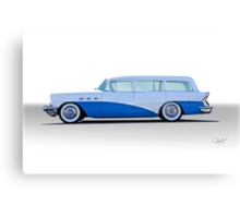 1956 Buick Century 'Low Rider' Wagon Canvas Print