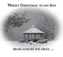 Merry Christmas to my Son, from across the miles. by artgoddess