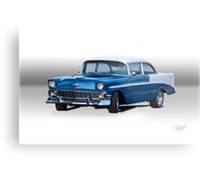 1956 Chevrolet Bel Air Coupe Metal Print