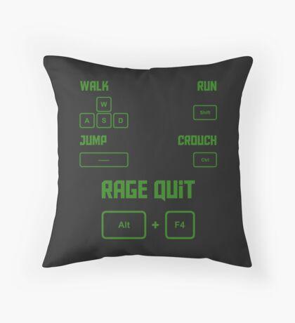 Gamer Controls Throw Pillow