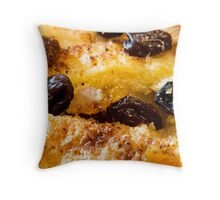 Bread and butter pudding Throw Pillow