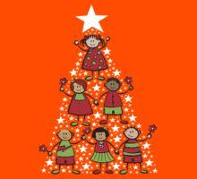 Christmas Tree Kids T-shirt Kids Clothes
