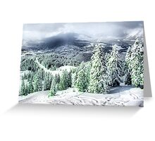 A Winters Dream Greeting Card