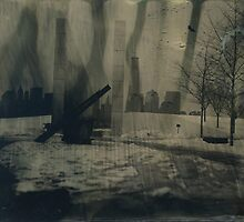 WTC Tintype Photograph by ShellyKay
