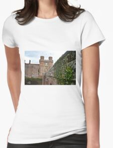 """Herstmonceaux, England: """"Herstmonceaux Castle"""" Womens Fitted T-Shirt"""