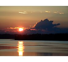 Early Summer Sunset Photographic Print