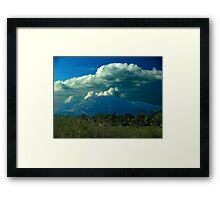 Sudden Summer Rain Framed Print