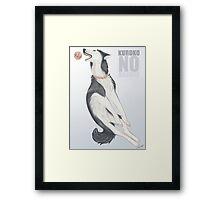 Nigou's Basketball Framed Print