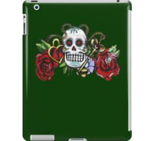 Skull & Roses-Graffit Art iPad Case/Skin