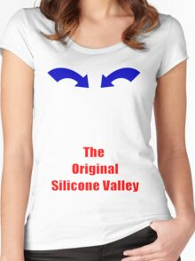 Silicone Valley Women's Fitted Scoop T-Shirt