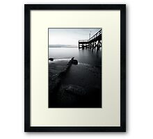 To the End Framed Print