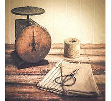 Primitive Textiles Photographic Print