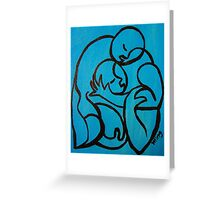 Loving you... Greeting Card