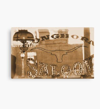 #629  The Saloon Canvas Print