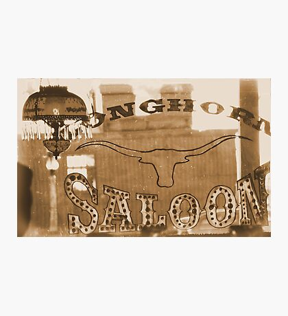 #629  The Saloon Photographic Print