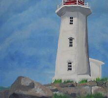 lighthouse by Steve Cochran